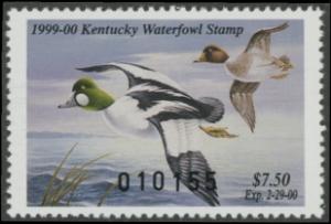 Scan of 1999 Kentucky Duck Stamp