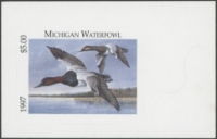Scan of 1997 Michigan Duck Stamp