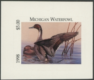 Scan of 1998 Michigan Duck Stamp