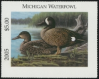 Scan of 2005 Michigan Duck Stamp