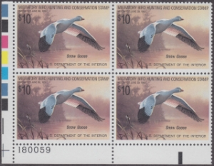 Scan of RW55 1988 Duck Stamp