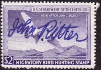 Scan of RW17 1950 Duck Stamp