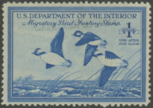 Scan of RW15 1948 Duck Stamp