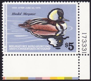 Scan of RW45 1978 Duck Stamp XF 90 MNH XF 90