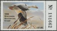 Scan of 1998 Wisconsin Duck Stamp