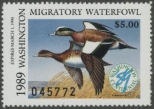 Scan of 1989 Washington Duck Stamp