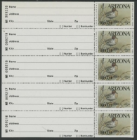 Scan of 1988 Arizona Duck Stamp MNH VF