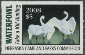 Scan of 2008 Nebraska Duck Stamp