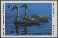 Scan of 1981 Nevada Duck Stamp