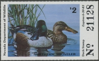 Scan of 1982 Nevada Duck Stamp