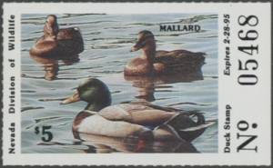 Scan of 1994 Nevada Duck Stamp
