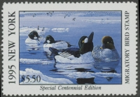 Scan of 1995 New York Duck Stamp