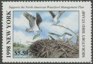 Scan of 1998 New York Duck Stamp