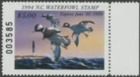 Scan of 1994 North Carolina Duck Stamp