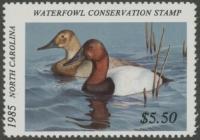 Scan of 1985 North Carolina Duck Stamp
