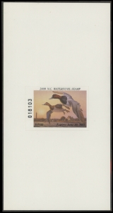 Scan of 2000 North Carolina Duck Stamp
