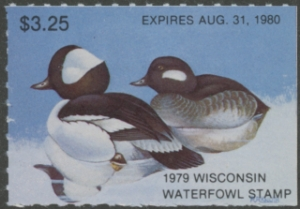 Scan of WI2 1979 Duck Stamp