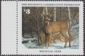 Scan of 1982 Minnesota Conservation Stamp