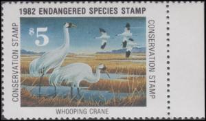 Scan of 1982 Endangered Species Stamp