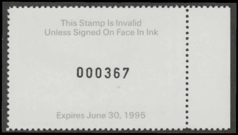 Scan of 1994 Arkansas Duck Stamp