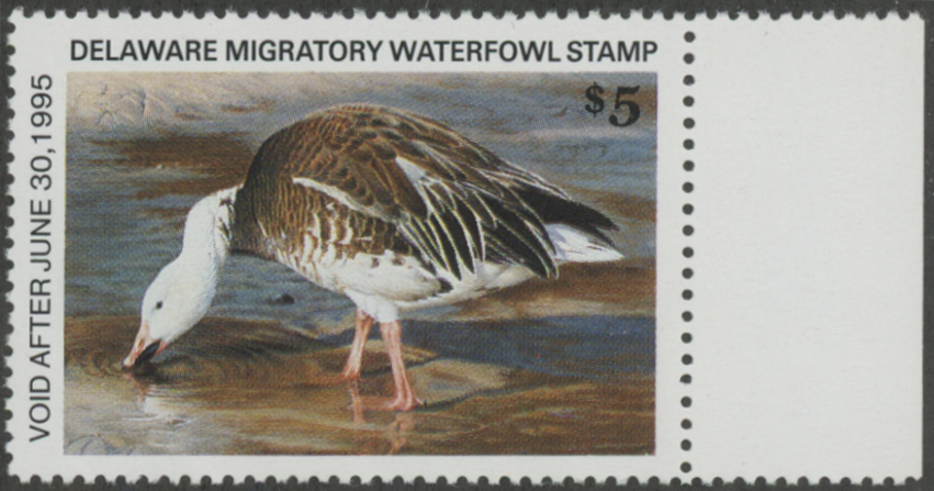 Scan of 1994 Delaware Duck Stamp