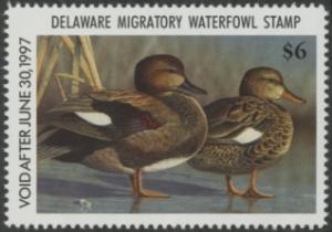 Scan of 1996 Delaware Duck Stamp