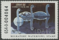 Scan of 1990 Idaho Duck Stamp