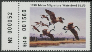 Scan of 1998 Idaho Duck Stamp