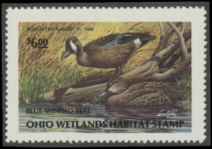Scan of 1987 Ohio Duck Stamp