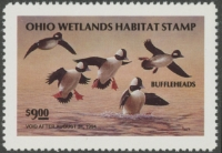 Scan of 1993 Ohio Duck Stamp