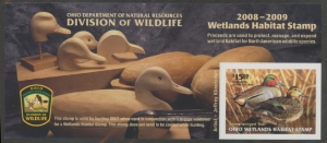 Scan of 2008 Ohio Duck Stamp