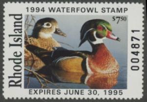 Scan of 1994 Rhode Island Duck Stamp