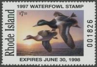 Scan of 1997 Rhode Island Duck Stamp