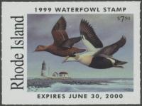 Scan of 1999 Rhode Island Duck Stamp