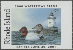 Scan of 2000 Rhode Island Duck Stamp