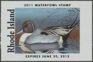 Scan of 2009 Rhode Island Duck Stamp