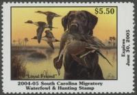 Scan of 2004 South Carolina Duck Stamp