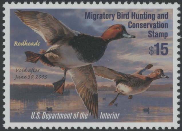 Scan of RW71 2004 Duck Stamp Superb 98