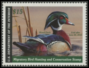 Scan of RW79 2012 Duck Stamp
