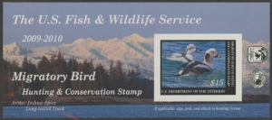 Scan of RW76A 2009 Duck Stamp