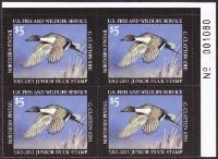 Scan of JDS20 2012 Junior Duck Stamp PB MNH VF