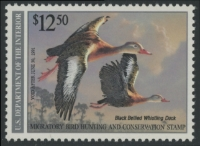 Scan of RW57 1990 Duck Stamp Grade 98