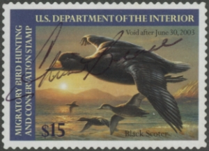 Scan of RW69 2002 Duck Stamp