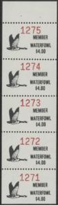 Scan of 1988 - 92 Pine Ridge Waterfowl Stamps