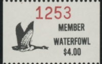 Scan of 1988 - 1992 Pine Ridge Waterfowl Stamp
