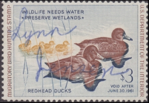 Scan of RW27 1960 Duck Stamp