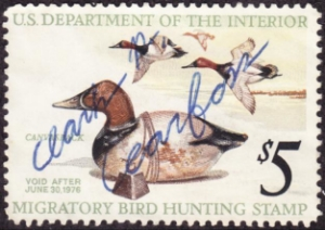 Scan of RW42 1975 Duck Stamp