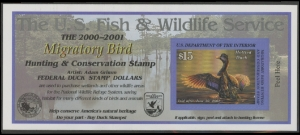Scan of RW67A 2000 Duck Stamp